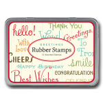 "Kleines Stempel-Set ""Greetings"""